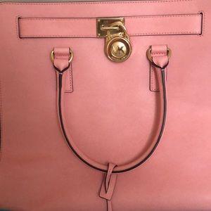 MK LARGE PINK HAND BAG